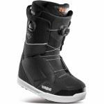 32 Mens Lashed Double Boa Snowboard Boot-Black-8.0