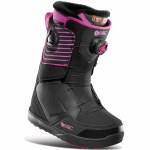32 Womens Lashed Double Boa Snowboard Boot-Black/Pink-6.5