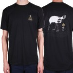Theories Of Atlantis Ostrich Effect Short Sleeve T Shirt-Black-XL