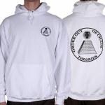 Theories Of Atlantis Chaos Hoody-White-L