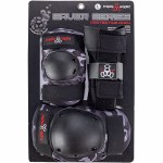 Triple 8 Saver High Impact 3 Pack-Charcoal Camo-M