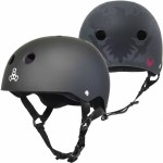 Triple 8 Brainsaver Helmet with Sweatsaver Liner-Get Used to It Black-XL