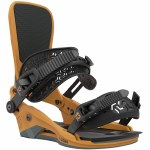Union Mens Atlas Snowboard Binding-Mustard Yellow-L