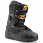 Vans Mens Implant Pro Snowboard Boot-Black/Yellow-11.0