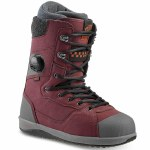 Vans Mens Implant Pro Snowboard Boot-Burgundy/Grey-13.0