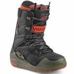 Vans Mens Sequal Snowboard Boot-Black/Grape Leaf-10.5