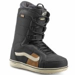 Vans Mens Hi Standard Pro Snowboard Boot-Black/Off White-9.5