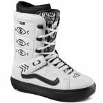 Vans Mens Hi Standard OG Snowboard Boot-Shallow Tree White/Black-11.0