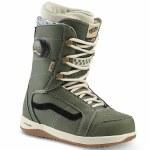 Vans Womens Ferra Pro Snowboard Boot-Lichen Green/Macadamia-8.0