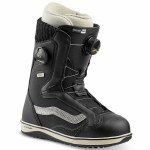 Vans Womens Encore Pro Snowboard Boot-Black/Turtledove-9.0