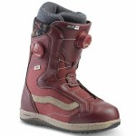 Vans Womens Encore Pro Snowboard Boot-Andorra Red/Cashmere-8.5