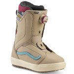 Vans Womens Encore OG Snowboard Boot-Tan/Cameo Blue-7.5