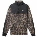 Vans Mens Check me Out Anorak Jacket-Leopard Print-M