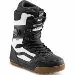Vans Mens Invado Pro Snowboard Boot-Black/White-13