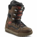 Vans Mens Invado Pro Snowboard Boot-Brown/Red-13