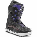 Vans Womens Ferra Pro Snowboard Boot-Black/Purple-6.5