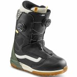 Vans Womens Vaje Hailey Langland Snowboard Boot-Black/Beetle-5.5