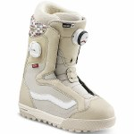 Vans Womens Encore Pro Snowboard Boot-Oatmeal/Peyote-9