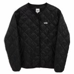 Vans Womens Forces Quilted Jacket-Black-S