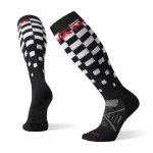 Vans Mens PhD Light Elite Snow Sock-Black/White-M