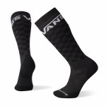 Vans Mens PhD Light Elite Snow Sock-Black/Charcoal-M