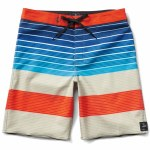 Vans Era Boardshorts Boys-Khaki Compass Stripe-22