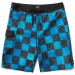 Vans Check Yoself Boardshorts Boys-Imperial Blue-22