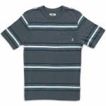 Vans Causeway Short Sleeve T Shirt Boys-Dark Slate-S