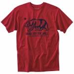 Vans Cali Club Short Sleeve T Shirt Boys-Cardinal-XL