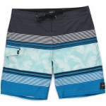 Vans Bonsai Stripe Boardshort Boys-Imperial Blue-26