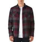 Vans Box Flannel Long Sleeve Woven Shirt Boys-Port Royale/Asphalt-S