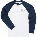 Vans Denton Long Sleeve Shirt Boys-White Dress Blues-XL