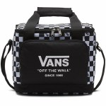 Vans Cooler Bag-Black/White/Check-OS