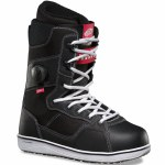 Vans Implant Pro Snowboard Boot-Black/White-9