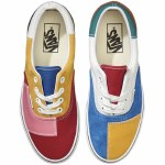 Vans Era Shoe Womens-(Patchwork)Multi/True White-7.5