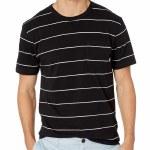 Vans Mens Glenwood Short Sleeve T-Shirt-Black/White-S