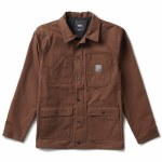 Vans Mens Drill Chore Lined Coat Jacket-Demitasse(Ave/Ripstop)-S