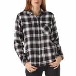 Vans Womens Brimms II Long Sleeve Flannel-Black-S