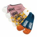 Vans Womens Gal Pal Canoodles 3 pack Sock-Multi-OS