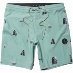 Vissla Mens Outside Sets 18.5 Boardshort-Mint-30