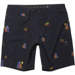 Vissla Mens Outside Sets 18.5 Boardshort-Black-32