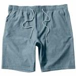 Vissla Mens Hemp No see Ums Elastic Walkshort 18.5 Boardshort-Light Slate-M