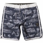 Vissla Global Stoke Boardshorts-Dark Navy-34