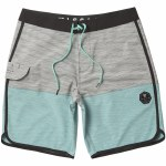 Vissla Spaced Diver Boardshorts-Teal-34