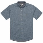 Vissla Mandurah Long Sleeve Woven Shirt-Pacific Blue-S