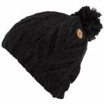 Volcom Leaf Beanie Womens-Black-OS