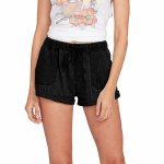Volcom Womens Sunday Strut Short-Black Out-M