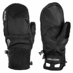 Volcom Mens Service GORE TEX Mitt Gloves-Black-S