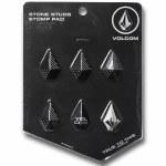 Volcom Mens Stone Studs Stomp-Black -OS
