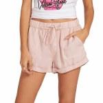 Volcom Womens Sunday Strut Short-Hazey Pink-M